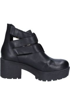 Bottines Paola Firenze bottines noir cuir BX727(115442629)