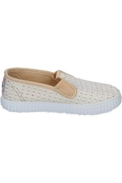Chaussures Cienta slip on blanc textile or profumate BX351(115442537)
