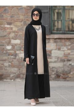 Black - Unlined - Suit - Sure(110337181)