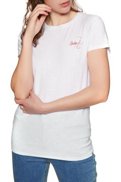 Animal Sportz 2 Damen Kurzarm-T-Shirt - White(100263554)
