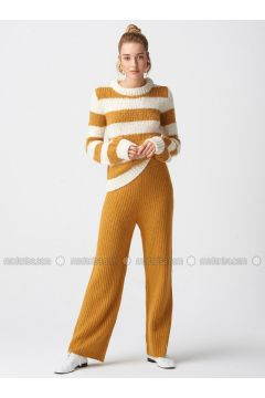 Mustard - Pants - Dilvin(110327490)