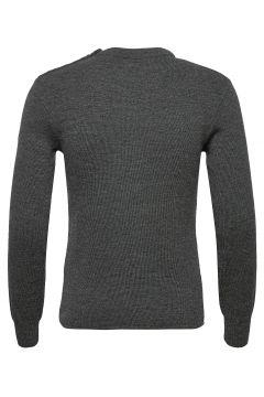 Mariner Sweater Strickpullover Rundhals Grau ARMOR LUX(119350353)