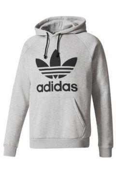 Sweat-shirt adidas TREFOIL FELPA GRIGIA FELPATA(115476493)