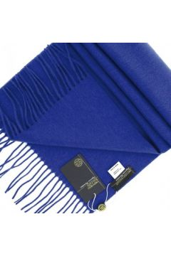 Echarpe Emporio Balzani echape cachemire bleu(115424441)