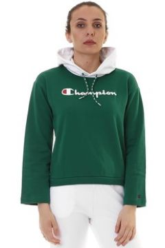 Sweat-shirt Champion FELPA CON CAPPUCCIO VERDE(115515235)