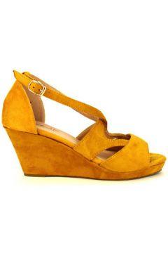 Sandales Cendriyon Compensées Caramel Chaussures Femme(115425648)