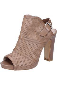 Sandales Janet Janet sandales beige cuir BZ414(115399088)