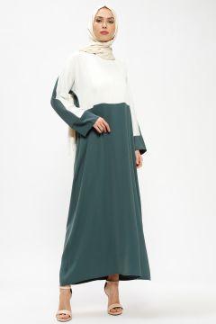 Robe Tuncay Vert / Ecru(109327743)