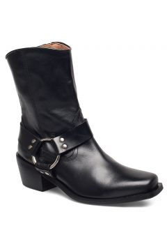 Hazel Leather Black Shoes Boots Ankle Boots Ankle Boots With Heel Schwarz HENRY KOLE(95010138)