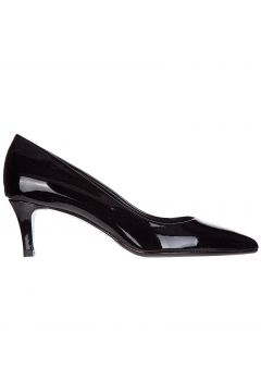 Women's leather pumps court shoes high heel(118073691)
