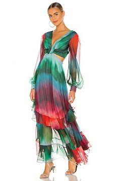 Макси платье sunset - PatBO(125440713)