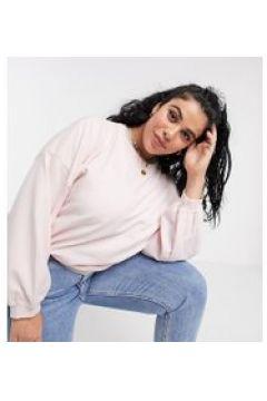 Urban Bliss Plus - Maglione rosa con maniche a palloncino(112349488)