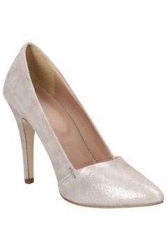 Chaussures escarpins Carmens Padova escarpins gris daim argent AF59(115499840)