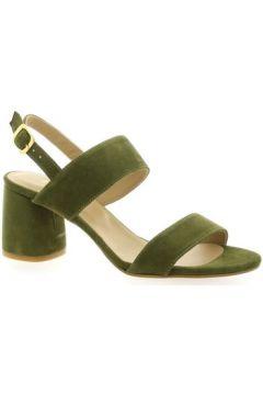 Sandales So Send Nu pieds cuir velours(127910098)