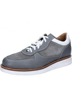 Ville basse Fdf Shoes élégantes gris daim cuir BZ388(115398952)
