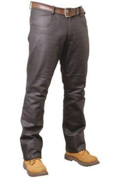 Jeans Pallas Cuir Pantalon en cuir VACHETTE ref_reg02703-marron(115555885)