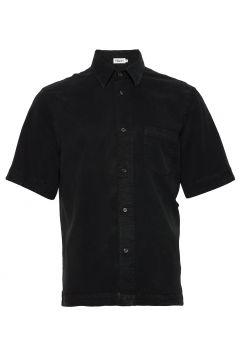 M. Owen Tencel Shirt Kurzärmliges Hemd Schwarz FILIPPA K(116547423)