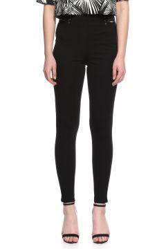 Guess-Guess Zımba Detaylı Siyah Pantolon(118835046)