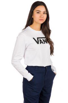 Vans Flying V Long Sleeve T-Shirt wit(109249655)