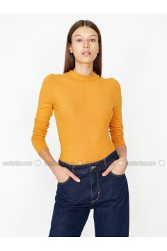 Mustard - T-Shirt - Koton(110323980)