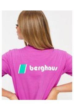 Berghaus - Heritage - T-shirt viola con logo sul davanti e sul retro(123472740)