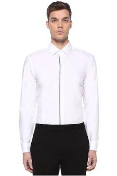 Boss Erkek Slim Fit Beyaz İngiliz Yaka Gömlek 40 IT(109265290)