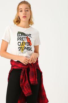 Limon Ekru T-Shirt(118429704)