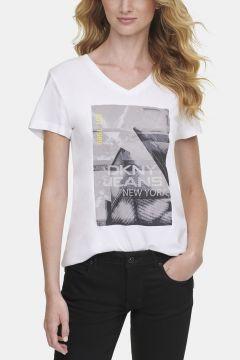Dkny Jeans Baskılı T-Shirt(124926997)