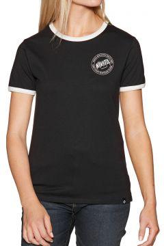 T-Shirt à Manche Courte Femme Nikita Dusk Ringer - Black(118332859)