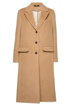 Pascala Coat Wollmantel Mantel Beige MORRIS LADY(114152042)