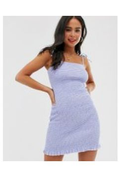 Abercrombie & Fitch - Vestitino arricciato a righe - Multicolore(93953856)