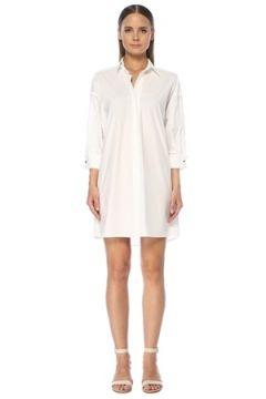 Network Kadın Beyaz Truvakar Kol Mini Gömlek Elbise 42 EU(118330151)
