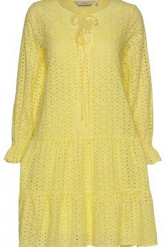 Nualzbet Dress Kurzes Kleid Gelb NÜMPH(114164607)