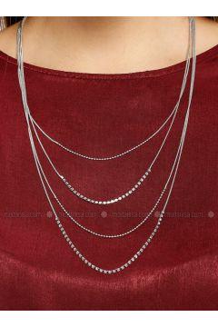 Silver tone - Necklace - Koton(110322176)