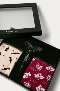 Medicine - Zestaw prezentowy: skarpetki (2-pack) i korek do wina Gifts(125026055)