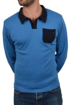 T-shirt Katz Outfitter Polo homme Differing bleu et marine - Polo manches longues(115397659)