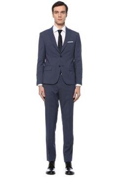 Beymen Club Erkek Drop 7 Mavi Kelebek Yaka Yün Takım Elbise 46 EU(126243344)