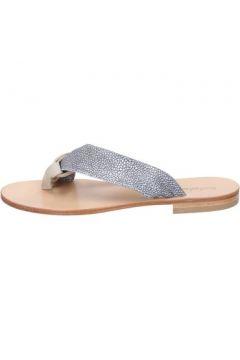 Sandales Calpierre sandales gris daim beige textile BZ880(115399056)
