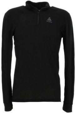 T-shirt Odlo Warm noir 1/2 zip ml tee(127955038)