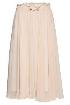Moody Skirt Knielanges Kleid Pink IDA SJÖSTEDT(109152066)