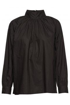 Sand T-Neck Shirt Crisp Bluse Langärmlig Schwarz MOSHI MOSHI MIND(114152183)