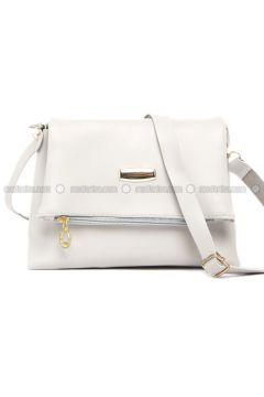 Gray - Shoulder Bags - Bagmori(110320564)