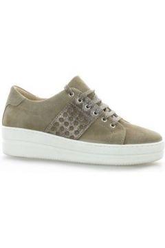 Chaussures So Send Baskets cuir velours(115613029)