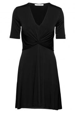 Elsi Ss Short Dress 10908 Kleid Knielang Schwarz SAMSØE SAMSØE(114164499)