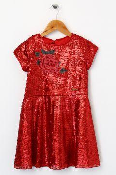 Barbie Kız Çocuk Kırmızı Elbise(126230749)
