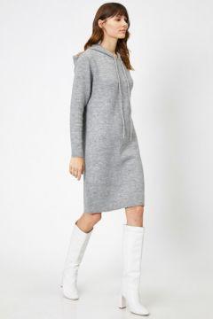 Koton Kadın Kapüsonlu Elbise(118033197)