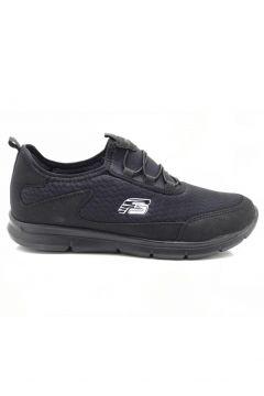 Forza Erkek Siyah Ortopedik Günlük Spor Ayakkabı(118647772)