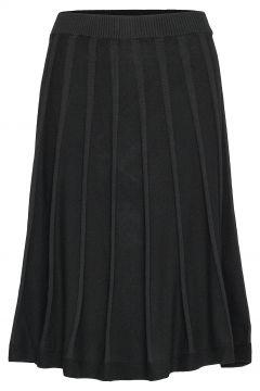 Henna Skirt Knielanges Kleid Schwarz JUMPERFABRIKEN(114164227)