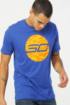 Under Armour 1351325-449 Sc30 Camo LogoTee-Blu Erkek T-Shirt(126399723)