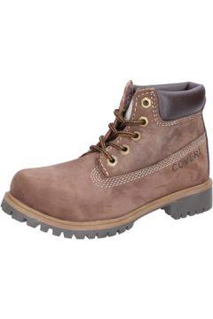 Boots enfant Enrico Coveri COVERI bottines marron cuir suédé AD832(115395346)